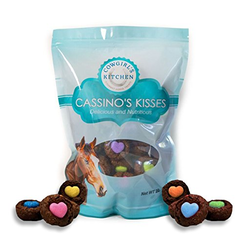 Cowgirls Kitchen CASSINOS Kisses All Natural Gourmet Horse Treats (2 LBS)
