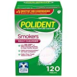 Polident Smokers Denture Cleanser Tablets