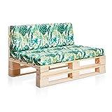 sillón de madera de palets