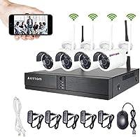 Kit videosorveglianza Wi-Fi – 4 telecamere e registratore senza hard disk