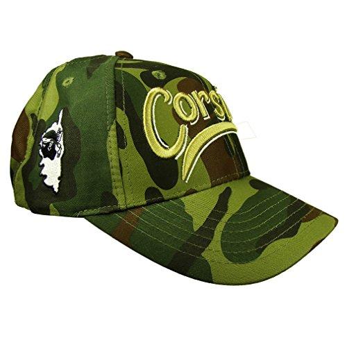 Casquette Homme Corse 'Militaire' - Vert