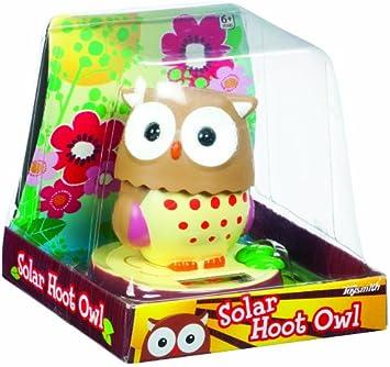 Toysmith Solar Hoot Owl