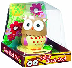 Solar Power Motion Toy - Owl