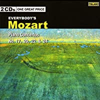 Mozart: Piano Concertos Nos 17 20 22 & 24