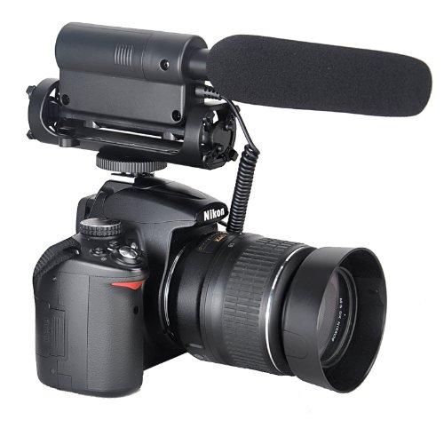TAKSTAR la SGC-598 fotografía de micrófono de entrevista de fotografía...