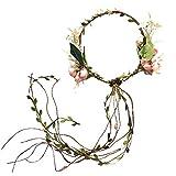 1本入り花冠ヘッドドレスヘアバンド花輪造花髪飾り花ヘアアクセサリー女の子カチューシャ可愛い発表会誕生会舞台記念写真