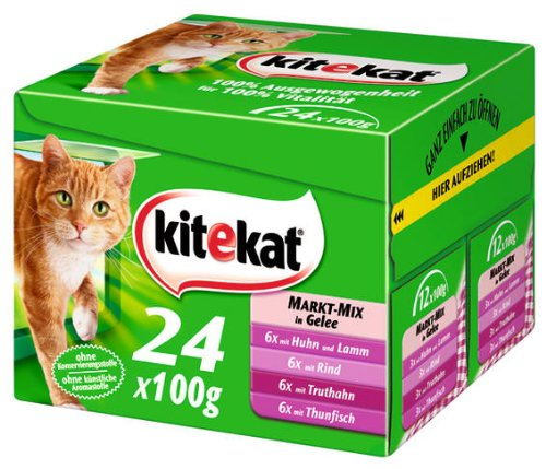 Kitekat MP24 Markt-Mix in Gelee 2x(24x100g)