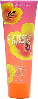 Bath & Body Works Butterfly Flower Ultra Shea Body Cream, 8 Ounce