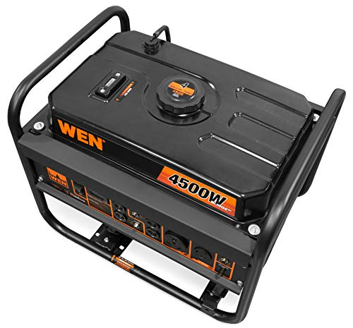 WEN GN4500 4500-Watt 212cc Transfer Switch and RV-Ready Portable Generator, CARB Compliant