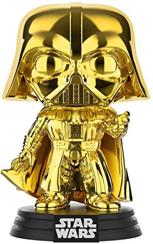 Funko Pop! Star Wars – Darth Vader (cromo dorado) Convención Galáctica Amazon Exclusivo