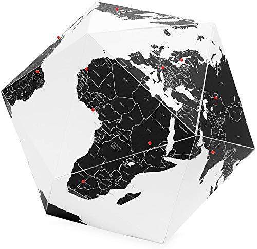 Palomar Here – Dreidimensionale Karte, Weiß 23 cm weiß