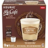 McCafé Cafe Selections Latte K-Cup Coffee Pods & Froth Packets (9 Pods and Packets)