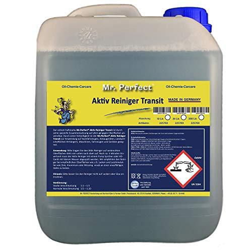 Mr. Perfect® Nutzfahrzeugreiniger, 10 Liter - Aktiv Fahrzeugreiniger für Planen, LKW und Landmaschinen
