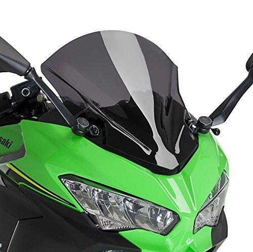 Racingscheibe für Kawasaki Ninja 400 18-19 dunkel getönt Puig 9976f