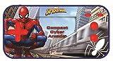 LEXIBOOK- Marvel Spider-Man Compact Cyber Arcade Consola portátil, 150 Juegos, LCD, con Pilas, Azul, Color (China)