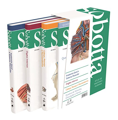 Atlas de Anatomia Humana - 3 Volumes
