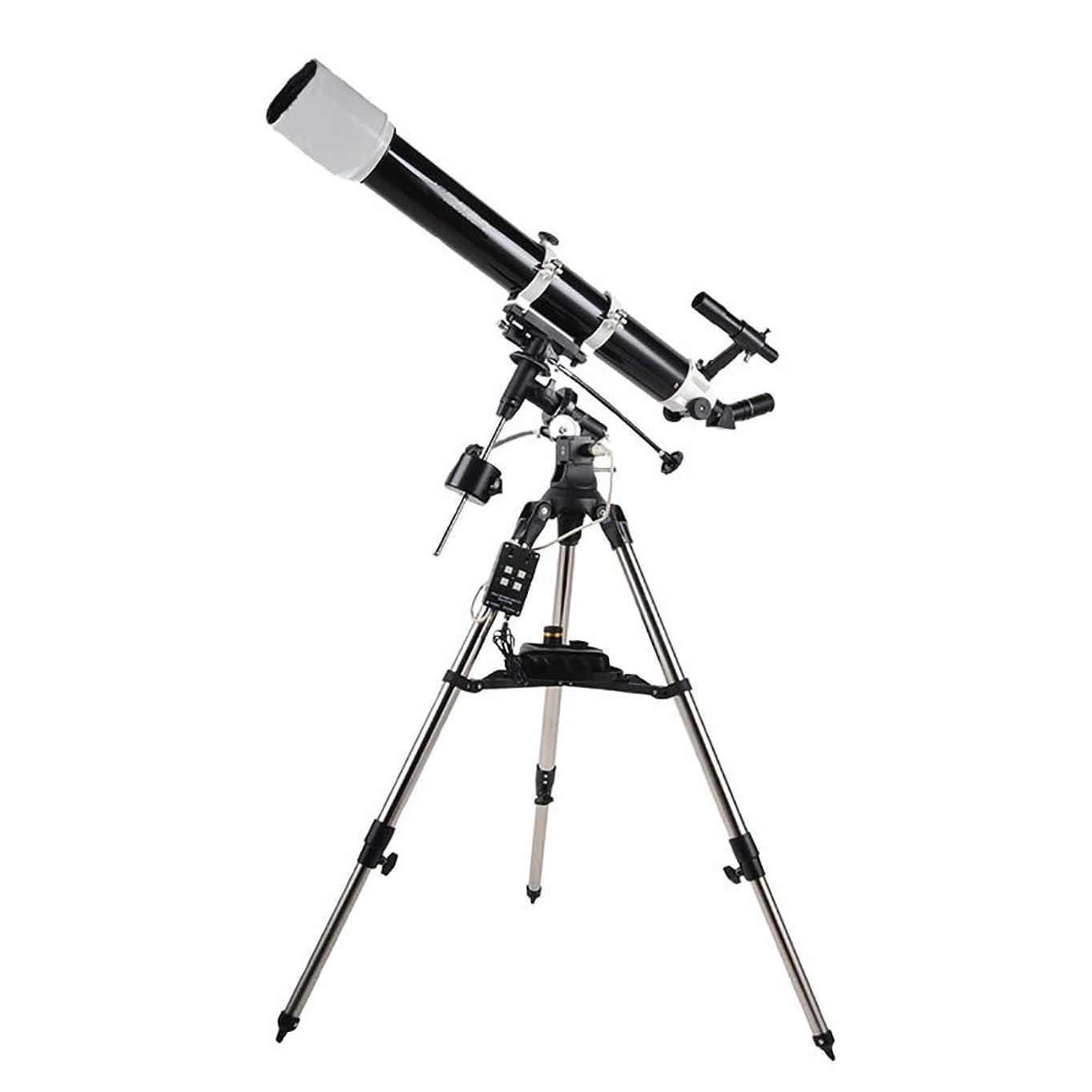 プット分類吸収LILIS 天体望遠鏡 子供 望遠鏡 観察星空のための三脚と赤道儀ポータブル屈折望遠鏡アウトドア単眼スペース天体望遠鏡屈折