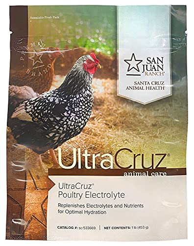 UltraCruz Poultry Electrolyte Supplement for Chickens, 1 lb, Powder (sc-533669)