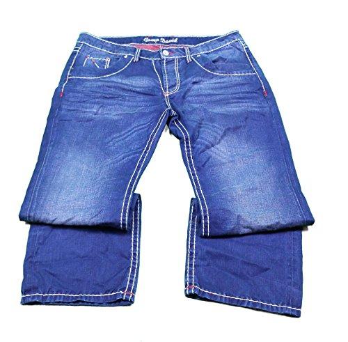 Camp David Herren Jeanshose Jeans Hose Freizeit Jeans Nick Regular Fit Bootcut Low Waist Gr. W32, W33, W34, W36, W38/ L36 (W33/L36)