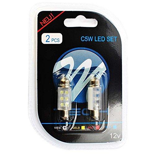 M-Tech LB023 W blister 2 x C5 W 36 6 x lED 3 mm 12 V