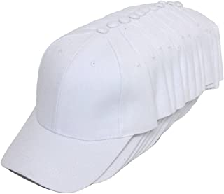 12-Pack Adjustable Baseball Hat