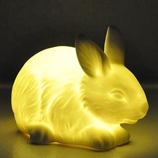 Woodland Twilights Porcelain Led Nightlight - Bunny