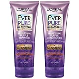 Best Shampoo For Gray Hairs - L'Oreal Paris EverPure Sulfate Free Brass Toning Purple Review
