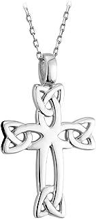 Celtic Cross Sterling Silver 18