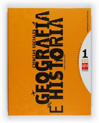 Ciencias sociales, geografía e historia. 1 ESO. Conecta 2.0. Comunidad Valenciana - 9788467540789