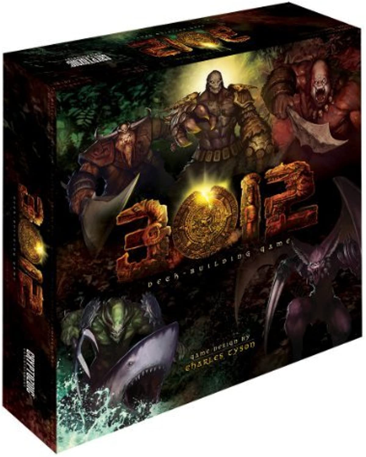 3012 Deck Building Game by Cryptozoic