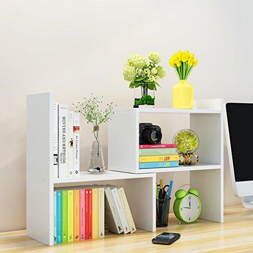 HYLR japanisch-Art DIY kreativ Woody Desktop kleine Bücherregale Ablage Rack Buch Regal, Speicher Schreibtisch Veranstalter Datei Regale Massivholz Book Holder Storage Bookshelf