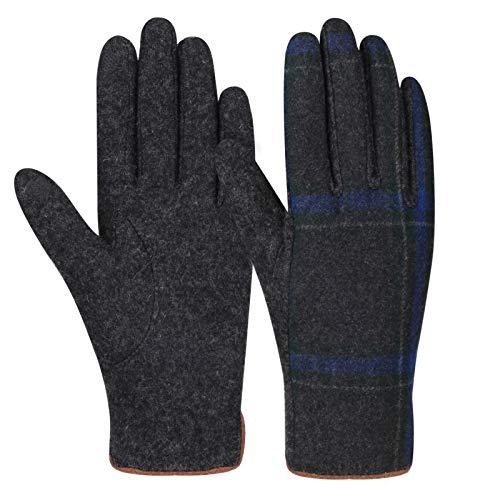 Bequemer Laden Handschuhe Damen Winterhandschuhe Touchscreen Handschuhe Fingerhandschuhe Warme Windstopper Handschuhe Warmem Fleecefutter für Skifahren Radfahren Arbeiten und SMS