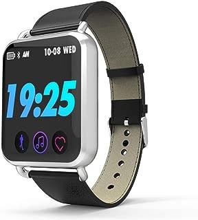 BSZZD Smart Watch,Sports Heart Rate Bracelet Sleep Sedentary Reminder Weather Calorie Monitoring Smart Bracelet (Color : E)