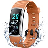 IANRTTE Advanced Fitness Trackers HR,IP68 Waterpoof Activity Trackers with Heart Rate and Sleep