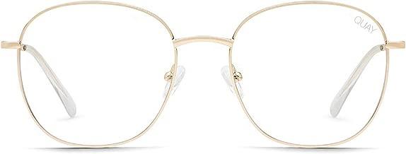 Quay Australia Women's Jezabell Round Blue Light Blocking Glasses
