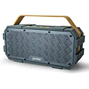 Bluetooth Speaker with Built in Subwoofer, JONTER [M90], Big Power Driver, Generous Outdoor Design, IPX5 Water Resistant-Rugged, Suitable for Party Atmosphere - Amazon Vine