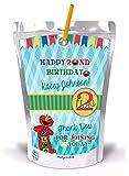 10 ELMO Capri Sun Juice Pouch Stickers Labels Party Favors ANY AGE