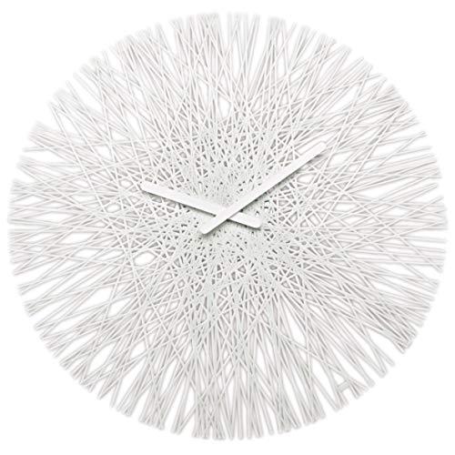 Koziol SILK Quartz wall clock Círculo Blanco - Reloj de pared (Blanco, 448 mm, 35 mm, 448 mm)