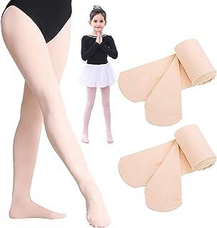 1 Bis 3 Paar Ballett Strumpfhose, Tanzstrumpfhose mit Fuß für Mädchen Kinder & Damen, Legging Stützstrumpfhose, Strümpfe