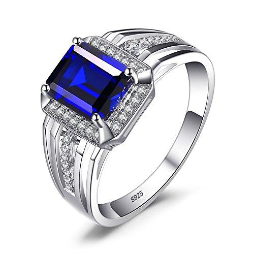 JewelryPalace 3ct Bijoux Luxe Classique Bague Homme Anneau...