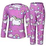 AmzBarley Unicornio Pijamas Niños Niñas Ropa de Dormir Halloween Cosplay...