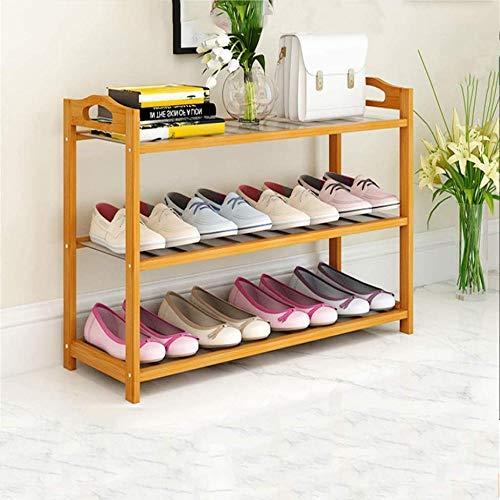 A-Generic 3 Niveles 6 Niveles Zapato de Zapatos Rack Save Tower Wardrobe Storage Organizer Contiene 12-24 Pares de Zapatos de Corredor Dormitorio de Sala de Estar