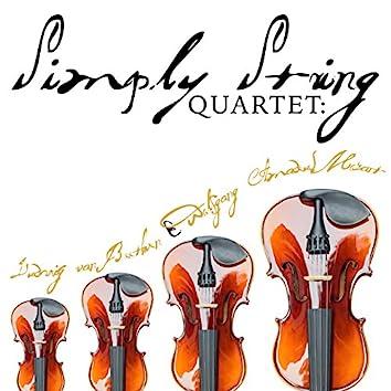 Simply String Quartet: Ludwig Van Beethoven & Wolfgang Amadeus Mozart