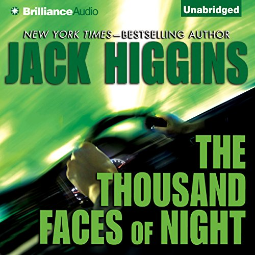 The Thousand Faces of Night audiobook cover art