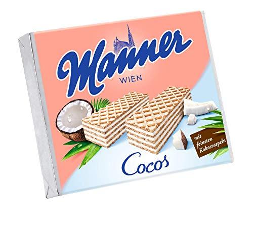 Manner Cocoscreme Schnitten, 12er Pack (12 x 75 g)