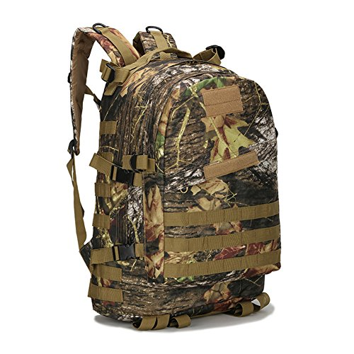 Sac a Dos Tactique, Camouflage Militaire Armee Sac e Dos Style US Assault Pack 20L Molle(Type 13),40L