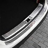 QQY 2 PCS Protezione Paraurti Posteriore, per Nissan Qashqai J11 2014-2016 Auto Tronco AntiGraffio Fasce Decorative Protettive personalità Accessori, Acciaio Inossidabile