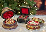 THREE KINGS GIFTS THE ORIGINAL GIFTS OF CHRISTMAS Set of 3 Deluxe Box Gold Frankincense & Myrrh