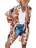Long Kimonos for Women Boho Style Open Front Beach...