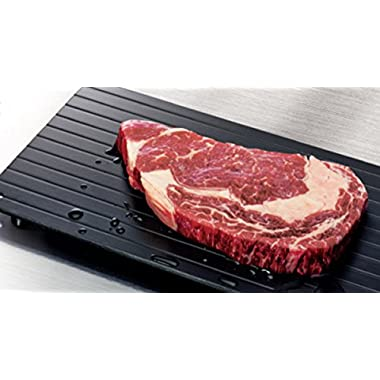 Imperial Home Fast Defrosting Tray - The Safest Way to Defrost Meat or Frozen Food Quickly Without Electricity, Microwave, Hot Water or Any Other Tools
